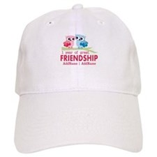 1st Anniversary Personalized Baseball Cap