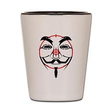 Anonymous Shot Glass
