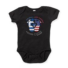 Greek American Baby Baby Bodysuit