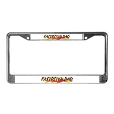 Fastpitch Dad License Plate Frame