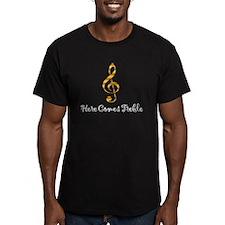 Here Comes Treble - Yellow T-Shirt