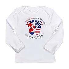 Cuban American Baby Long Sleeve T-Shirt