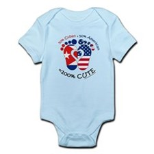 Cuban American Baby Body Suit