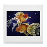 Big Fish Small Pond Tile Coaster