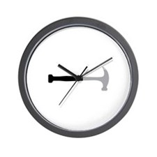 Hammer Wall Clock