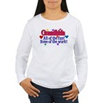 Grandkids - All the fu Women's Long Sleeve T-Shirt