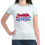 Grandkids - All the fun! Jr. Ringer T-Shirt