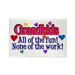 Grandkids - All the fun! Rectangle Magnet