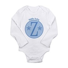 Unique Zane Long Sleeve Infant Bodysuit