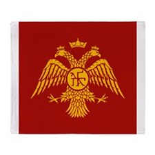 Two Headed Eagle Throw Blanket