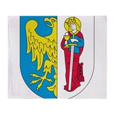 Eagle With Shield 4 Throw Blanket