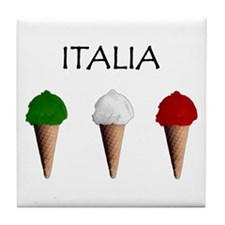Gelati Italiani Tile Coaster