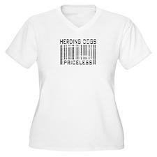 Herding Dog Priceless Barcode T-Shirt