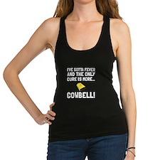 Gotta Fever More Cowbell Racerback Tank Top