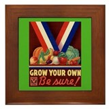 Victory Garden Framed Tile