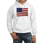 USA Flag Hooded Sweatshirt