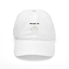 Custom White Bunny Baseball Baseball Cap