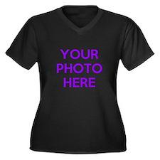 Customize photos Plus Size T-Shirt