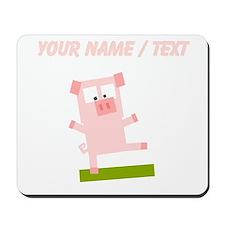Custom Pig Avatar Mousepad