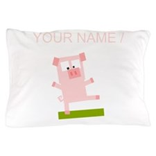 Custom Pig Avatar Pillow Case