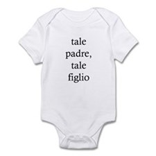 """Onesie For A Baby Boy: """"Like Father, Like Son"""""""