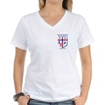 St. Luke's Women's V-Neck T-Shirt
