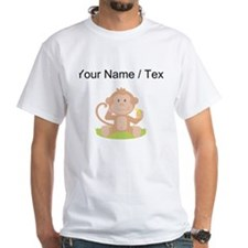 Custom Monkey Eating Banana T-Shirt