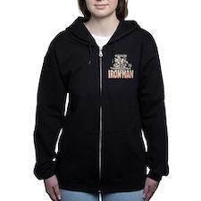 Iron Man MC 3 Women's Zip Hoodie