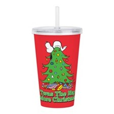 The Nap Before Christm Acrylic Double-wall Tumbler