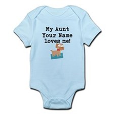 My Aunt Loves Me Dog (Custom) Body Suit