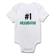 Number 1 GRANDSON Infant Bodysuit