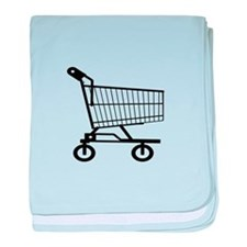 Shopping Cart baby blanket