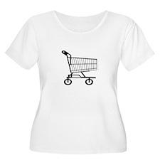 Shopping Cart Plus Size T-Shirt