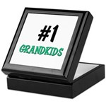 Number 1 GRANDKIDS Keepsake Box