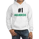 Number 1 GRANDKIDS Hooded Sweatshirt