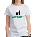 Number 1 GRANDKIDS Women's T-Shirt