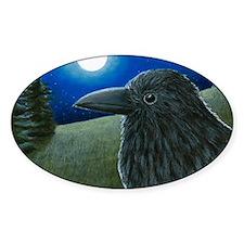 Bird 52 Crow Raven Decal