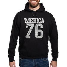 Vintage 'Merica Est 1776 Hoodie