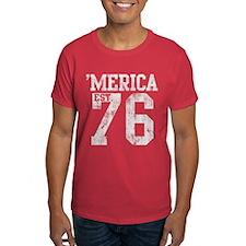 Vintage 'Merica Est 1776 T-Shirt