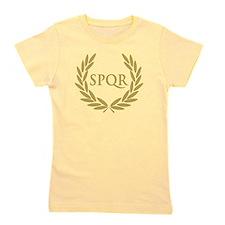 Rome SPQR Roman Senate Seal Girl's Tee