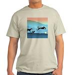 Dogs Chasing Ball Light T-Shirt