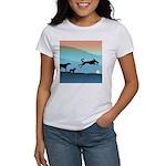 Dogs Chasing Ball Women's T-Shirt