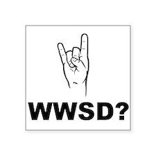 What Would Satan Do? WWSD? Sticker