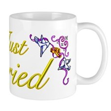 Just Married Yellow Mug