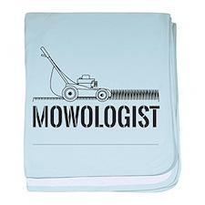 Mowologist baby blanket