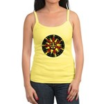 Beautiful Sunburst Mandala Jr. Spaghetti Tee