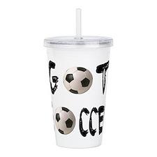 got soccer wba;;.png Acrylic Double-wall Tumbler
