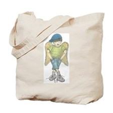 Little boy angel Tote Bag