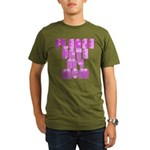 Gothic Cross Yellow T-Shirt