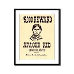 The Apache Kid Framed Panel Print